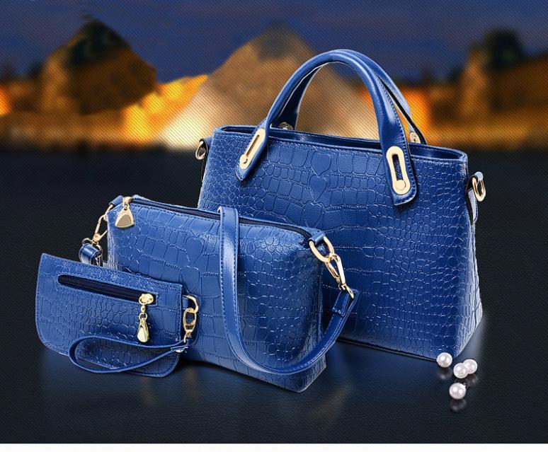 women famous brand handbag bolsas femininas 2014 high quality women handbag buy 1 get 3 lash package genuine leather bag(China (Mainland))