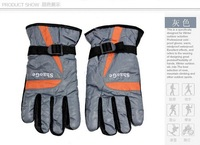 2014 Winter Waterproof Snowboard Gloves For Men Warm Skiing Gloves Snowmobile Motorcycle gloves FreeShip by DHL/Fedex 144pairs