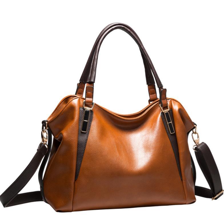 NO.1 NEW 2015 Women Luxury Brand Bags European Genuine Leather Bags For Women Messenger bags Fashion Famous Brand Handbag(China (Mainland))
