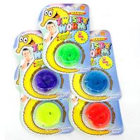 Magic worm magic trick twtisty worm Plush Mr.Fuzzy Magic Wiggle Worm Twisty Worm Stuffed Animals Toy For Kids