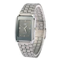 2015 Classic Fashionable Unisex Stainless Steel Bracelets Watch Women Leisure Quartz Watches