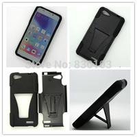 Hard Plastic Silicon Stand Combo Case For Blu Life Pure Mini L220a Hybrid Cover Free Ship