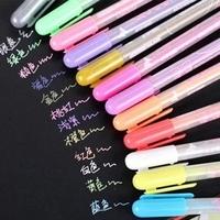 Black Paper Special Pen Watercolor Pen DIY Album Dedicated Pen 12 colorful water color