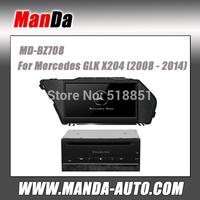 2 din oem car multimedia for Mercedes GLK X204 (2008 2009 2010 2011 212 2013 2014 ) car gps navigation in-dash dvd