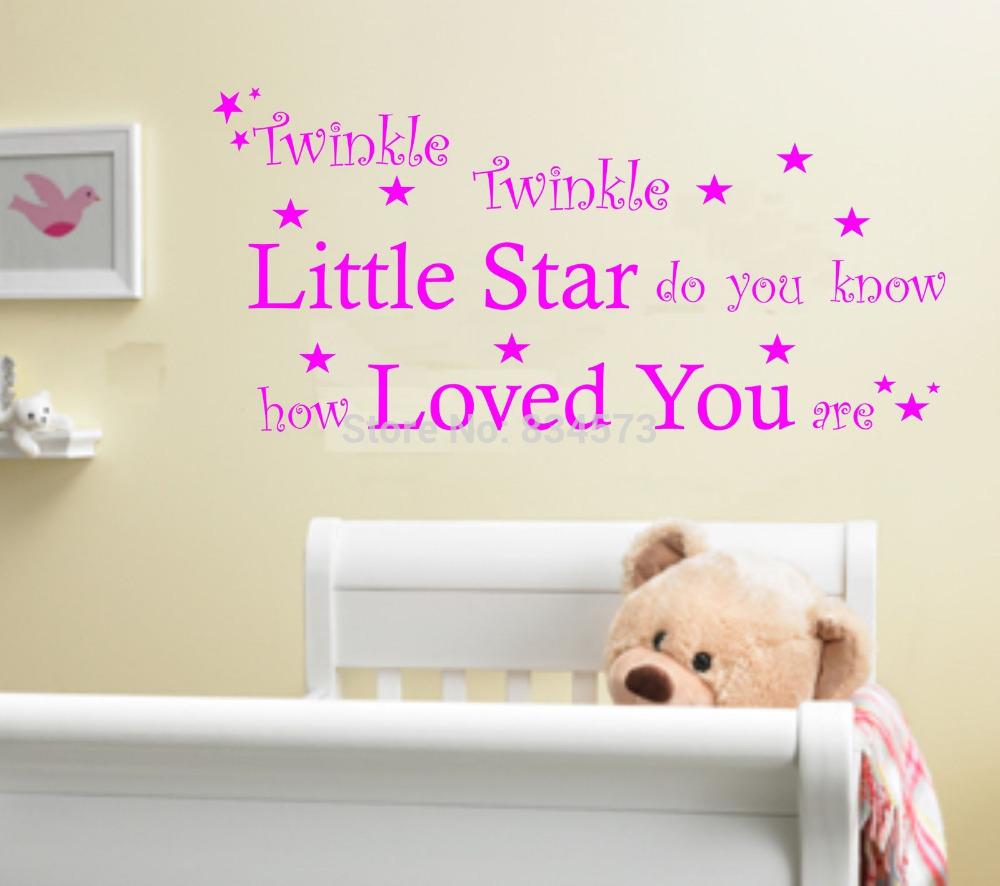 ... Twinkle Baby Kinderkamer Offerte Kunst Aan De Muur Sticker Download