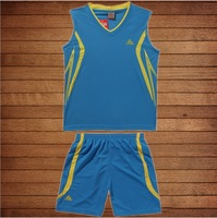 Children's basketball suit Uniforms jersey children's Workout clothes male sports training suits custom DIY printed numbers
