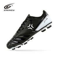 New fashion durable outdoor chuteiras de futebol society,black football boots,women and men soccer cleats