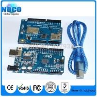 TI CC3000 Wifi for Arduino development expansion Wifi wireless shield + UNO R3 MEGA328P ATMEGA16U2 with usb cable