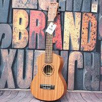 """High quality 21"""" mini size Homeland Laminated zebra wood Soprano 4 String ukulele Acoustic Instrument ukelele Free Shipping"""