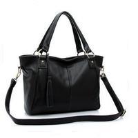 2015 Fashion Women's Handbag Genuine Leather Bag For Women Messenger Bag Female Vintage Shoulder Bags Women Tote Brands 266