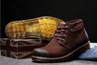 Spring Boots men,Size 38-44 ROSAN Russian Style Men Tooling Shoes Zapatos Sapatas Motorcycle Botas Masculinas