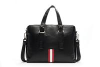 New men's travel bags 2014 Designer Brand Men Messenger Bag Men's genuine leather shoulder handbags DHL Free Shipping