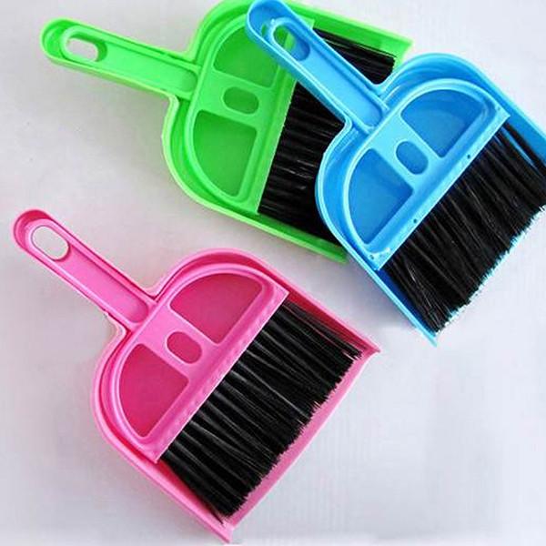 Mini Dustpan &Brush Desk Table Top Keyboard Netbook Handy Cleaner Whisk Dust Pan(China (Mainland))