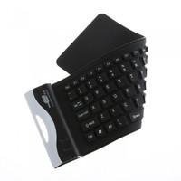 79K Waterproof Silicone Flexible Mini Keyboard For PC