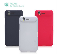 High quality Nillkin case For ZTE V988/Grand S Mate Mobile phone hard protective frosted shield with film for free
