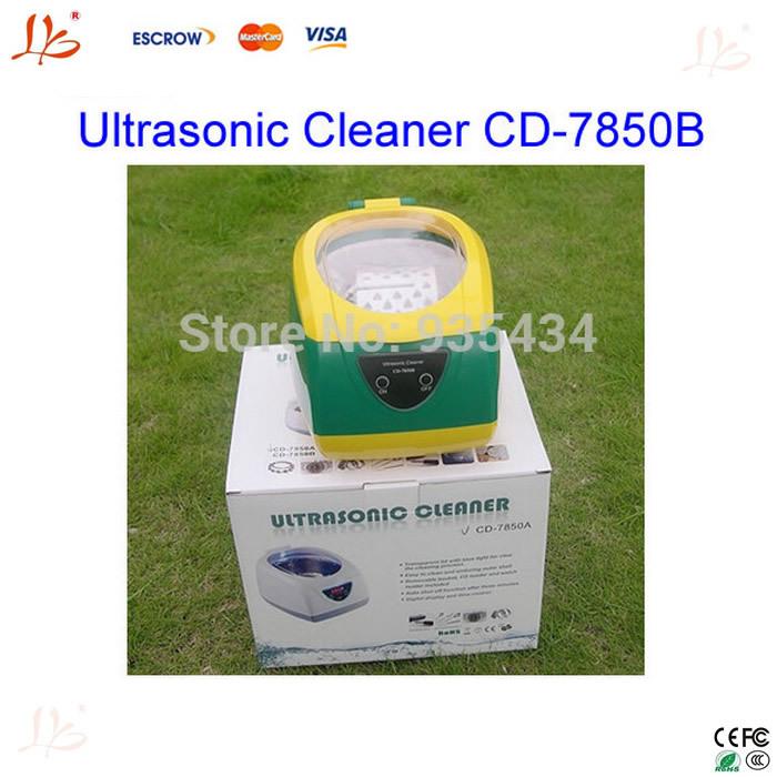 Free shiping JIEKANG CD-7850B 750ML Ultrasonic Cleaner 5 gears timing Very Good to clean DVD(China (Mainland))