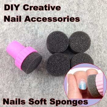 Ногтей инструменты, ногти мягкими губками для цвет увядает маникюр, DIY творческий ...