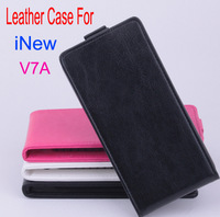 iNew V7A  Vertical  Leather Moblie Phone PU Flip Case Cover For iNew V7A  Smartphone