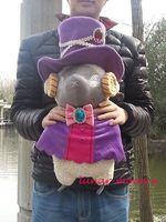 "22"" RARE Hand-made Anime Karneval Hitsuji Sheep Lamb Goat Plush Cosplay Doll"