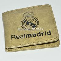 real madrid 7 teams Custom logo Men's Women uefa champions league Football fans souvenirs Soccer wallet