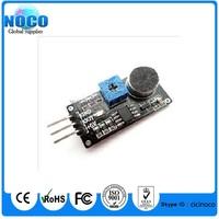 Wholesale 10pcs/Lot Sound Detection Sensor Module Sound Sensor Intelligent Vehicle For Arduino