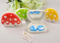 12pcs/lot,New Arrival EYEKAN contact lens mate box lenses box contact lenses storage contact lens cases Freeshipping