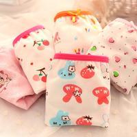 Tong boxer briefs underwear girls underwear child super cute print boxer underwear panties calcinha calcinha infantil