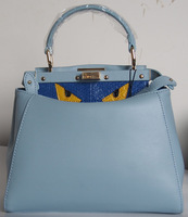 Customized bag of blue color just for Adriana