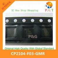 CP2104-F03-GM CP2104-F03-GMR IC SGL USB-TO-UART BRIDGE 24QFN