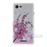 For Sony Xperia E3 Phone Case Elegant Lotus TPU Cover for Sony Xperia E3 D2203 D2206 / E3 Dual SIM 1PCS Free Shipping