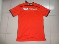 2014 15 Top Quality River Plate Jersey Soccer BALANTA CAVENAGHI VANGIONI 2015 River Plate Jersey R MORA  Away Red Man Shirt