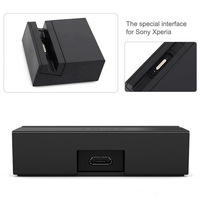 DK48 Magnetic Charging Dock Station for Sony Xperia Z3, Z3 Compact Mini D5833 L55T L55U M55W