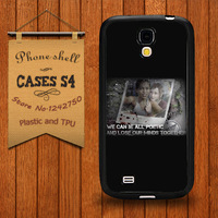 Nice handle The Last of Us Last Supper Parody case Cover for samsung galaxy S4 i9500 Free