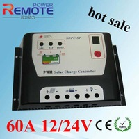 60A Solar controller,Battery Panel Charge Regulator 60A12V/24VDC AUTO Solar Charger