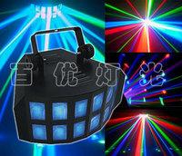 LED high power lamp, butterfly KTV bars radium shoots the karaoke bars laser, the room lights