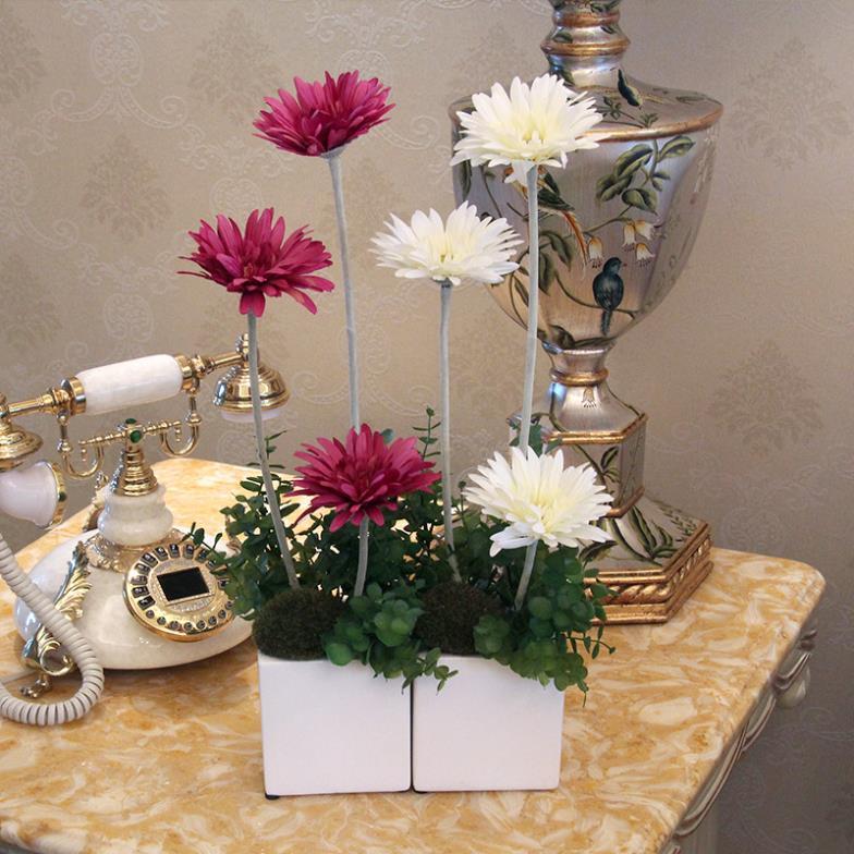 Compra viven arreglos florales online al por mayor de - Decoracion flores artificiales ...