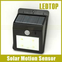 New Super bright LED Solar Power PIR Motion Sensor Yard Garden Security Lamp Outdoor Waterproof Wall Light Panel Luminaria