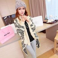 Irregularly Hemmed Creamy Shawl   Sweaters  Dear-Lover  LC27556