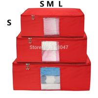 (S) Quilt bag Oxford clothes Storage bags dust organizer Storage Box storage Container storage cases