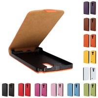 New Luxury Business Style Genuine Leather Flip Case For LG Optimus G3 mini G3s D722 D725 D728 Smart Phone Case Free ship