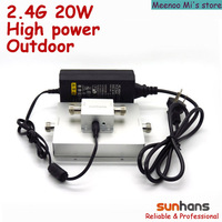 2.4G 20w high power outdoor wifi signal repeater(SH24Go20W)