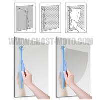 Wholesale 10pcs/lot Bathroom Wiper Bathroom Mirror Wipe Clean Window Device Glass Scraper Bathroom Mirror Wiper Free Shipping