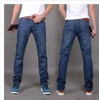 Explosion Mens 604 jeans trousers straight jeans fashion slim Korean tide