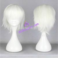 Gintama cosplay Sakata Gintoki wig white wig short wig ACGcosplay