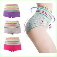 2014 CUP01 Charming Women High Waist Padded Butt Lift Hip Shapewear lift hip Up Enhancer body Shaper panties Underwear