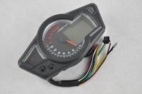 NEW LCD Digital 22X 1000R/m Odometer Speedometer Tachometer Motorcycle W/ Backlight