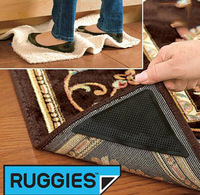 Wholesale 200pcs  Ruggies Set of 8 Rug Grippers Anti Slip as SEEN ON TV Washable Reusable