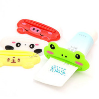 Free shipping Cartoon Frog/Animal Toothpaste Tube Squeezer Easy Squeeze Paste Dispenser Roll Holder SQF506