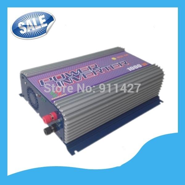 1000W DC 22V-60V Grid Tie Solar Power Inverter For Solar Panel System Free Shipping(China (Mainland))