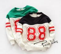 New 2014 baby girls cotton t-shirt children kids fashion cartoon coat A139 top quality